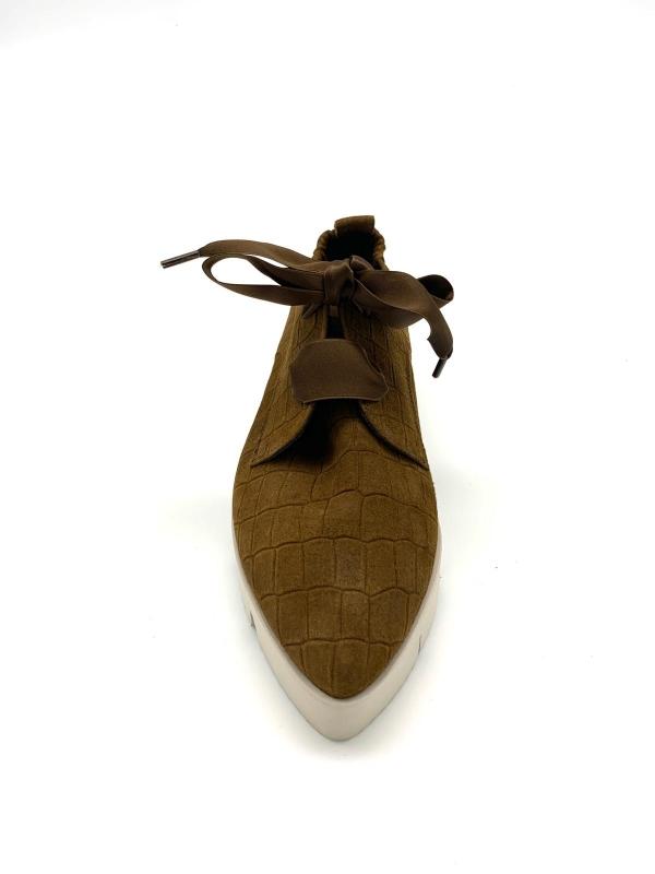 Kennel & Schmenger Sneaker geschnürt camel